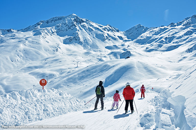 Skigebiet See Versingabfahrt