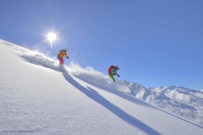 Skifahren im Skigebiet Bergbahnen See