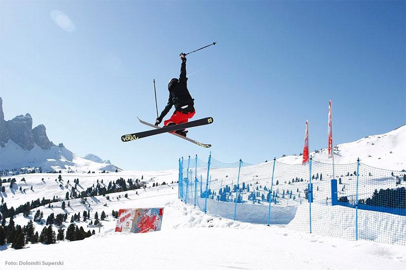 Snow- und Funpark Val Gardena am Piz Sella