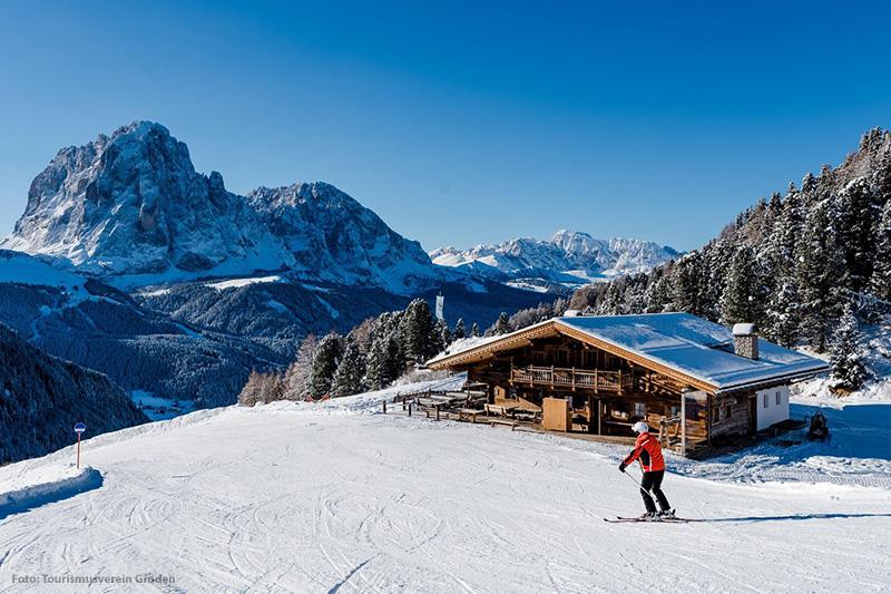 Skifahren in der Seiser Alm