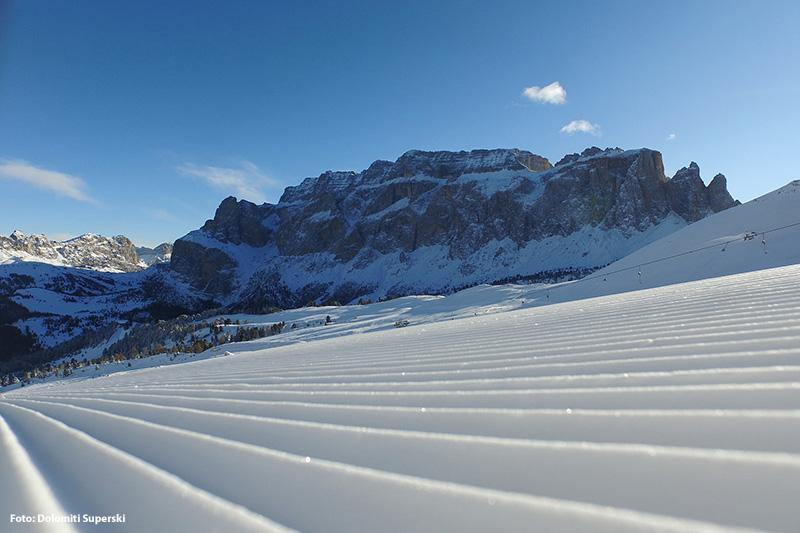 Skigebiet Val Gardena Gröden - Seiser Alm