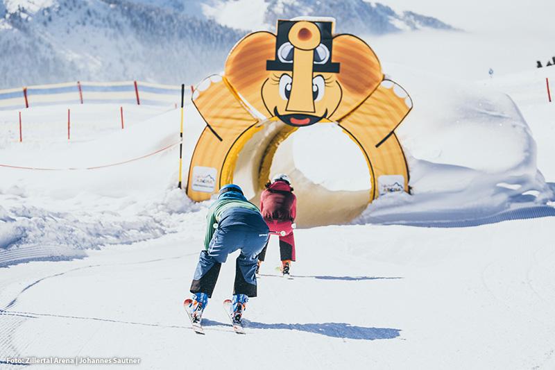Fun Runs sorgen viel Spaß für Große sowie für kleine Skifahrer