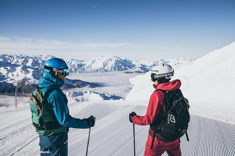 Vielseitig, familienfreundlich und schneesicher – die Zillertal Arena bietet Erholung und Action für Groß und Klein