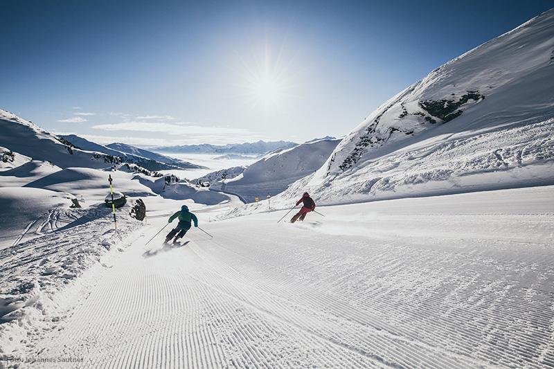 Skifahren im Skigebiet Zillertal Arena