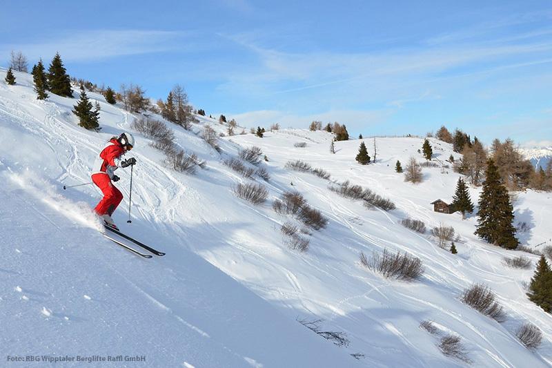 Freeride Ski im tiroler Wipptal