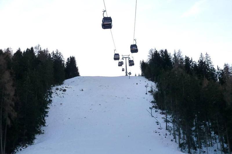 Manni Pranger Piste im Skigebiet Bergeralm