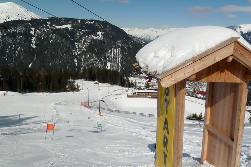 Rennstrecke Bergeralm im Wipptal - Tirol