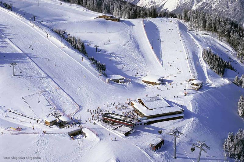 Skifahren auf der Bergeralm
