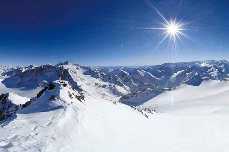 Skigebiet Bergeralm in der Region Wipptal - Tirol