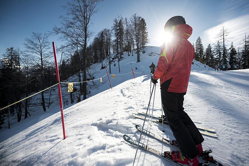 Skifahren im Skigebiet Götschen - Bischofswiesen