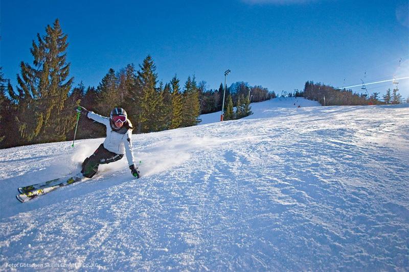 Wintersport in Bischofswiesen - Götschen