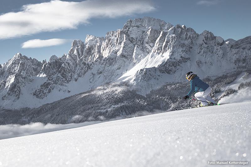 Skiurlaub in den Sextner Dolomiten