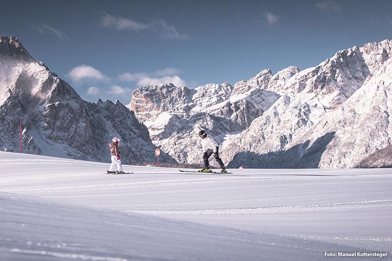 Skifahren in Sexten