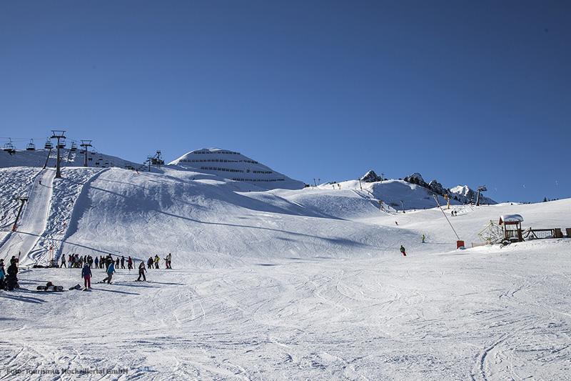 Gut präparierte Pisten zum Skifahren im Skigebiet Fügen-Spieljoch
