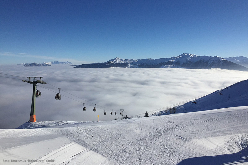 Skifahren im Skigebiet Fügen-Spieljoch