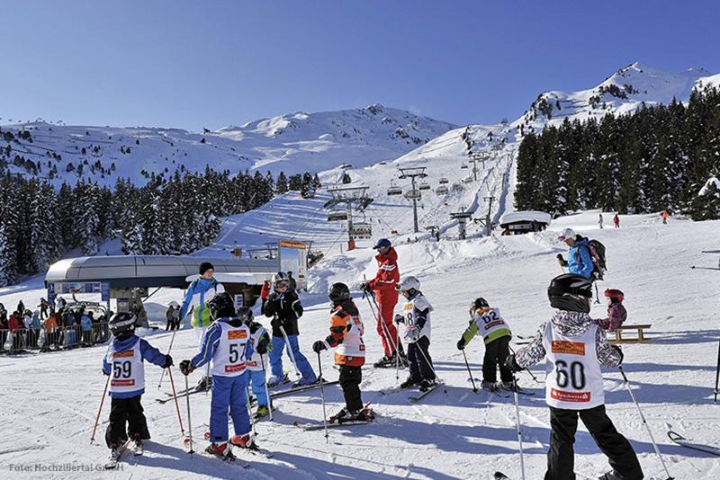 Skifahren im Skigebiet Kaltenbach-Hochzillertal
