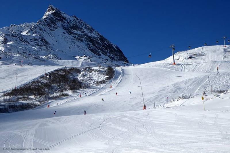 Perfekte Pistenverhältnisse im Skigebiet Galtür, Silvretta-Paznaun