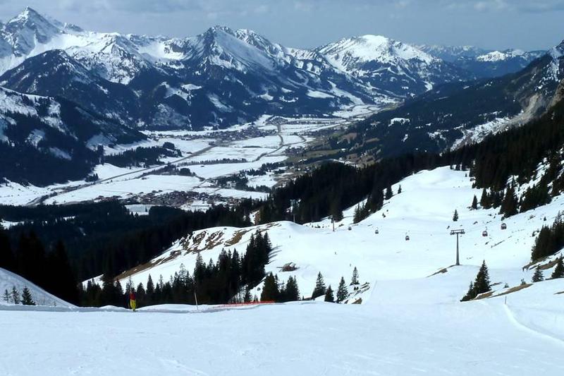 Blick ins Tannheimer Tal - Tirol