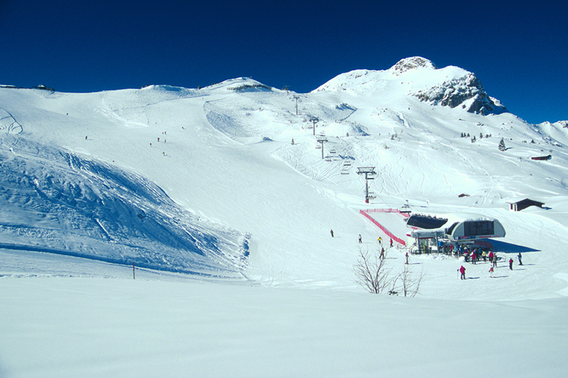 Skigebiet Grän - Füssener Jöchle im Tannheimer Tal in Tirol