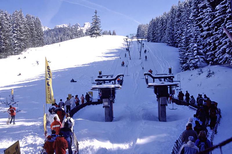 Der Grän - Füssener Jöchle Schlepplift - Region Tannheimer Tal in Tirol