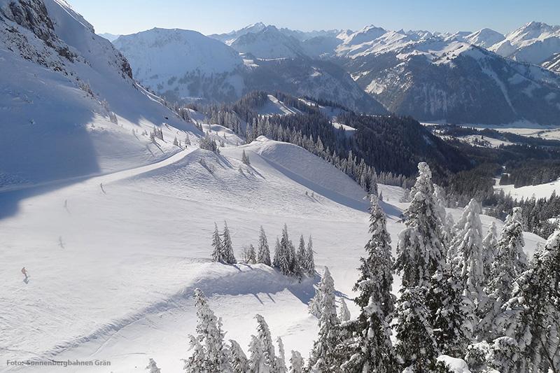 Skigebiet Grän-Füssener Jöchle