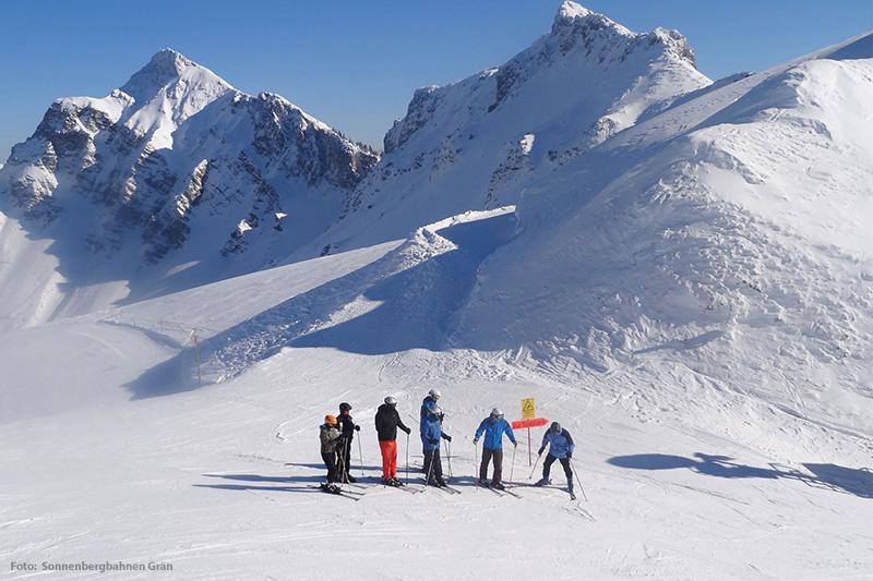 Skifahren im Skigebiet Grän-Füssener Jöchle
