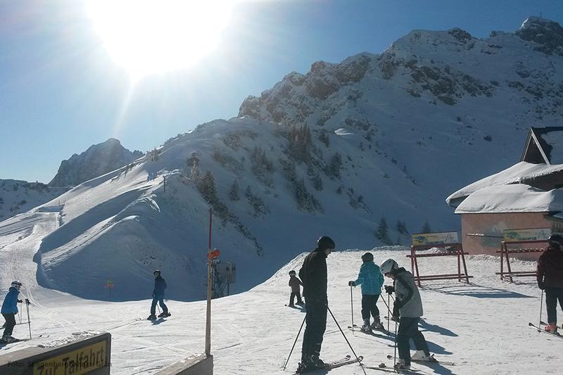 Skischule im Skigebiet Grän-Füssener Jöchle