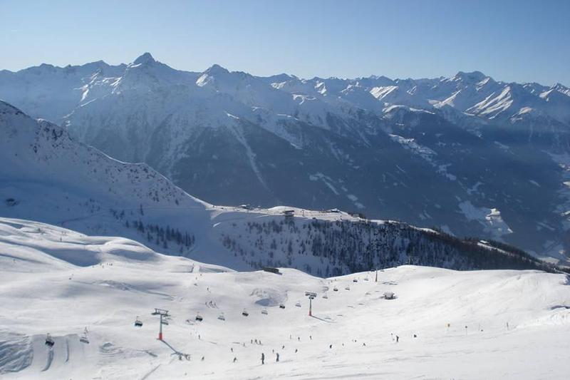 Blick zum Goldried im Skigebiet Großglockner Resort Kals-MatreiBlick zum Goldried im Skigebiet Großglockner Resort Kals-Matrei