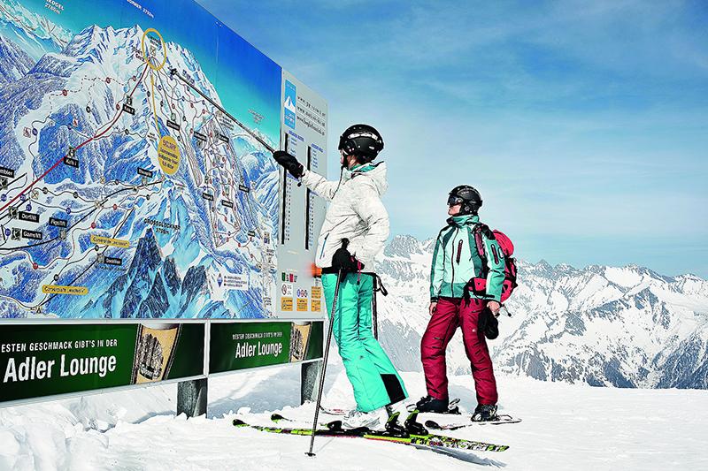 Infotafel Großglockner Rresort Kals Matrei im Nationalpark Hohe Tauern - Osttirol