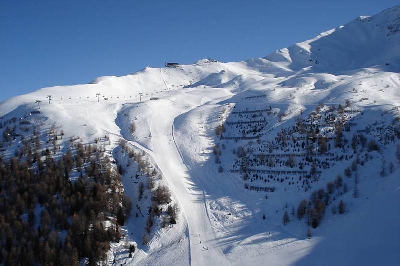 Steile Aabfahrt Großglockner Resort Kals-Matrei im Nationalpark Hohe Tauern - Osttirol