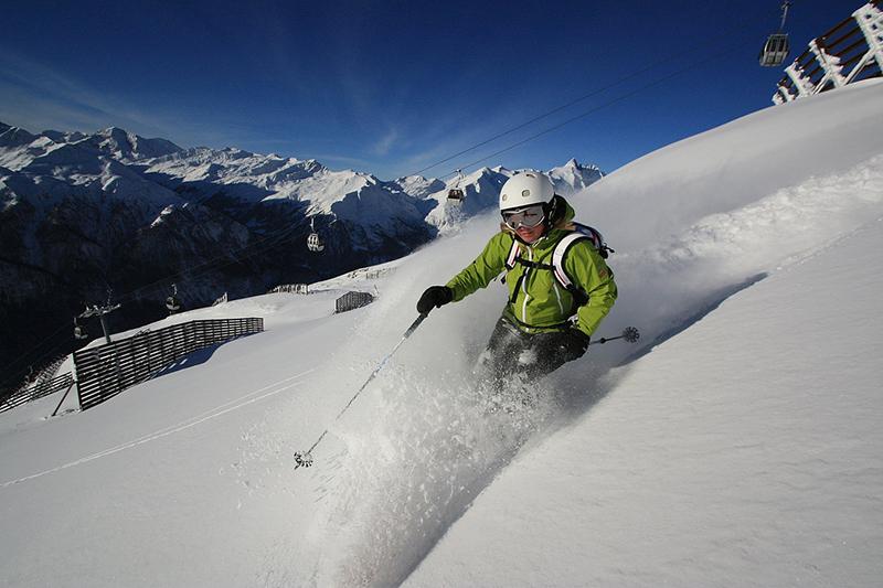 Freeriden im Skigebiet Heiligenblut - Kärnten