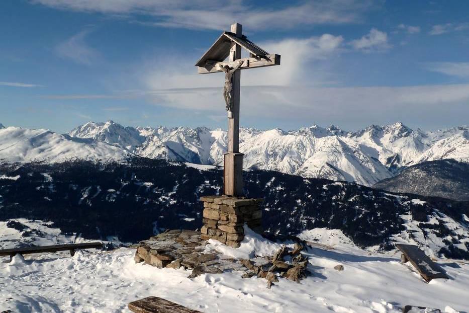 Gipfelkreuz Sechszeiger im Pitztal - Tirol