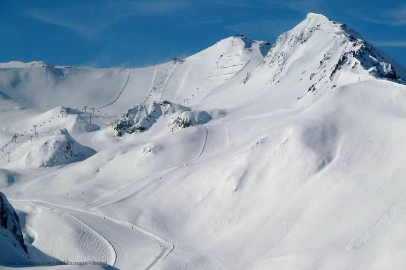 Die Abfahrt Palinkopf im Skigebiet Ischgl-Samnaun