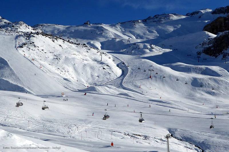 Idalp - Viderjoch - Idjoch im Skigebiet Ischgl-Samnaun