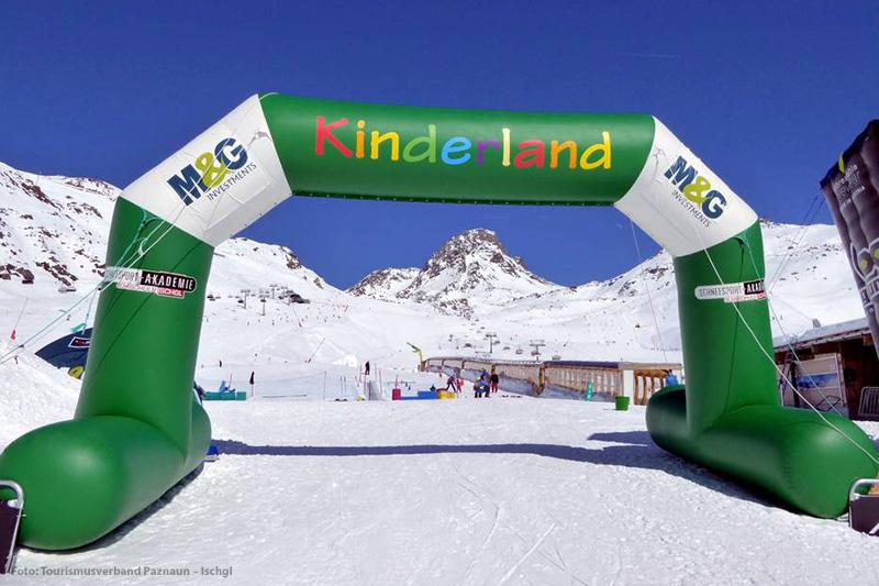 Das Kinderland im Skigebiet Ischgl-Samnaun in der Region Silvretta-Paznaun - Tirol