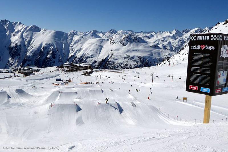 Der Ischgl Snowpark - Region Silvretta-Paznaun - Tirol