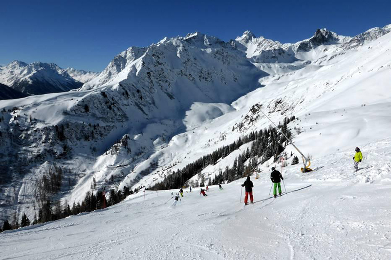 Die Alblitt Diasabfahrt - Silvretta-Paznaun in Tirol
