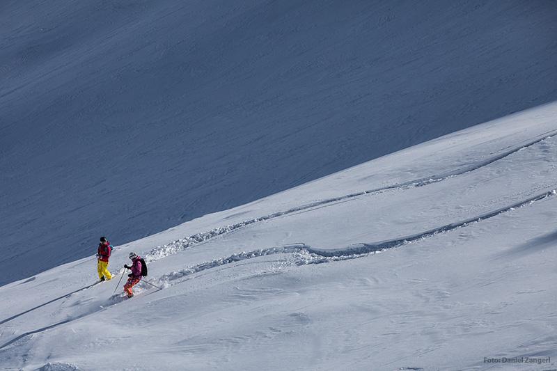 Skifahren im Skigebiet Kaunertaler Gletscher