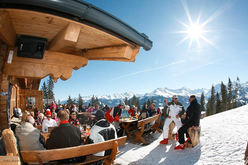 In allen Variationen gibt's Hüttengemütlichkeit im Kitzbüheler Skigroßraum