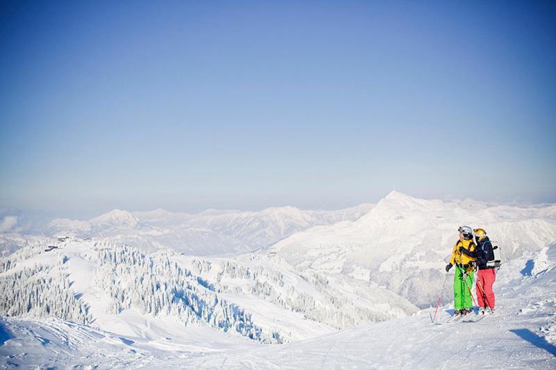 Blick auf das Kitzbühler Horn in den Kitzbüheler Alpen in Tirol