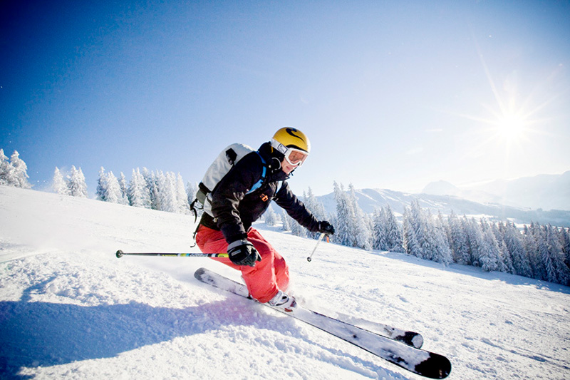 Carven im Skigebiet Kirchberg-Pass-Thurn