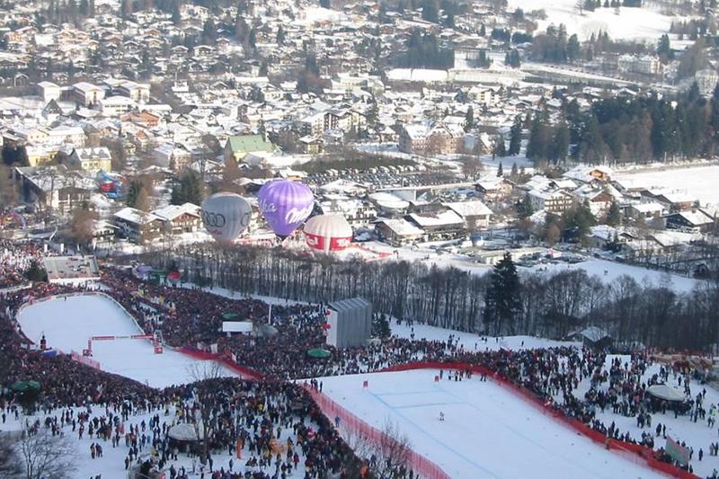 Das Hahnenkammrennen in Kitzbühel - Tirol