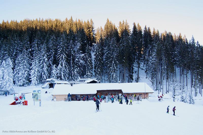 Ski Hütte am Kolbensattel