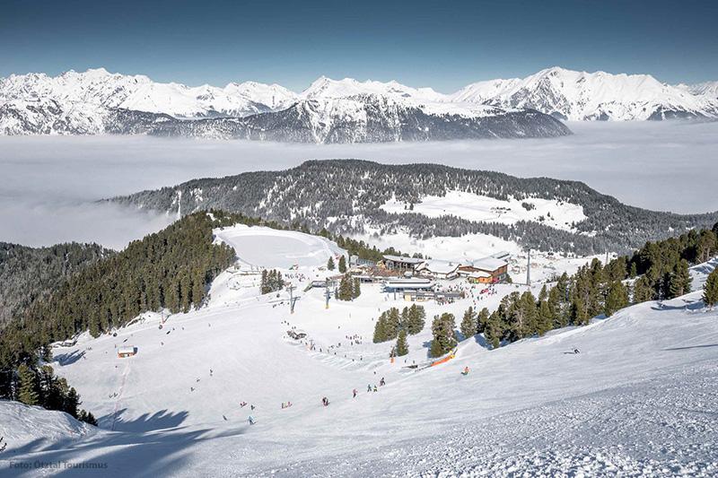 Skigebiet Hochoetz in Tirol