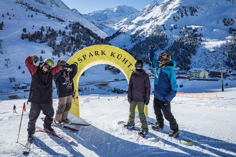 KidsPark - Der Snowpark für Kinder im Kühtai