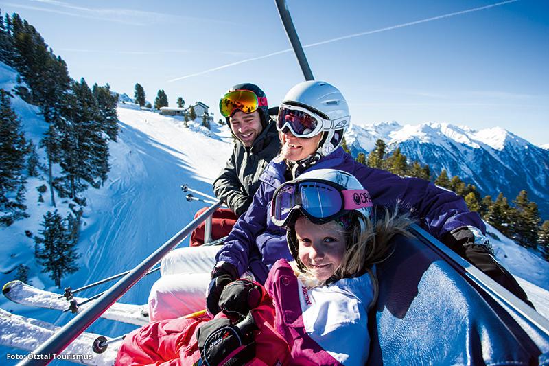 Skiurlaub für Familien