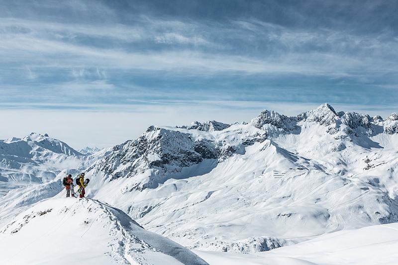 Freeriden in der Naturparkregion Lechtal-Reutte - Tirol
