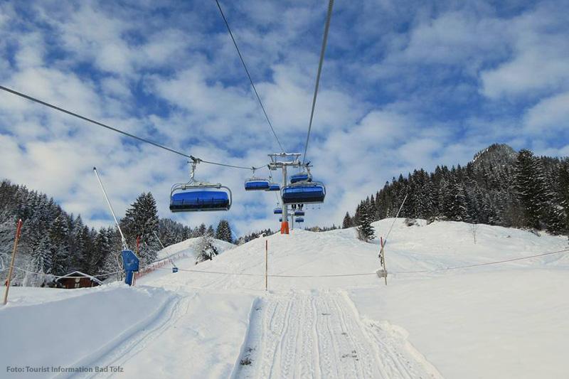 Lift im oberbayerischen Lenggries - Brauneck