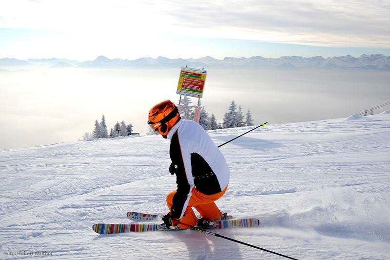 Skifahren im Skigebiet Lenggries-Brauneck