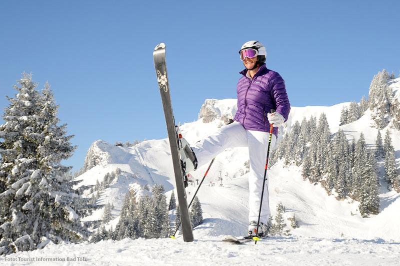 Skiurlaub im Tölzer Land in Oberbayern